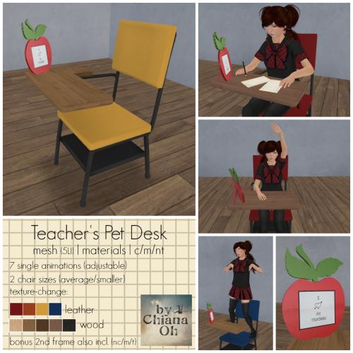 Teacher's Pet Desk [ad]